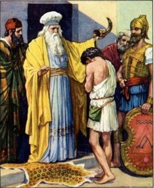 a biography and life work of david son of jesse Then jesse's second son, named  then saul sent a message to jesse, david's  surely goodness and mercy shall follow me all the days of my life:.
