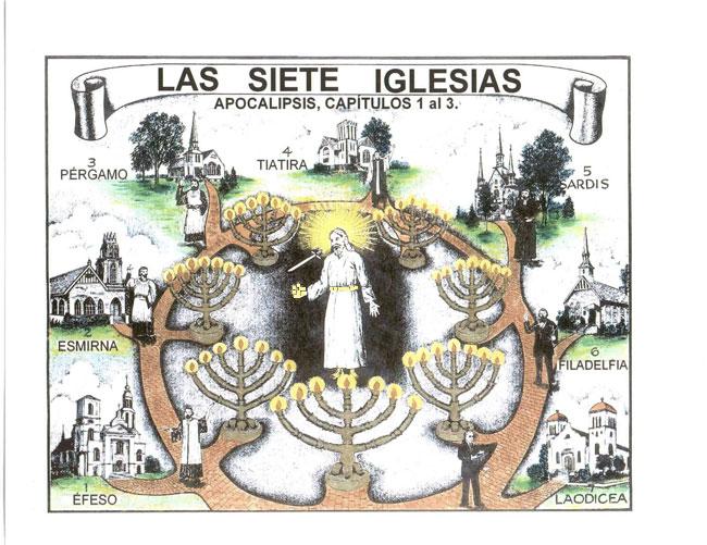 ... también las siete Iglesias y/o la plenitud de la Iglesia universal
